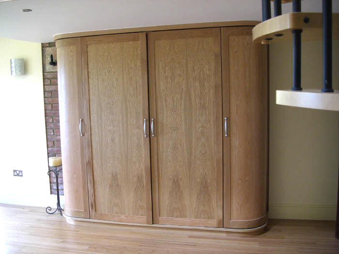 Fitted Bespoke Furniture Display Cabinets Secret Drawers