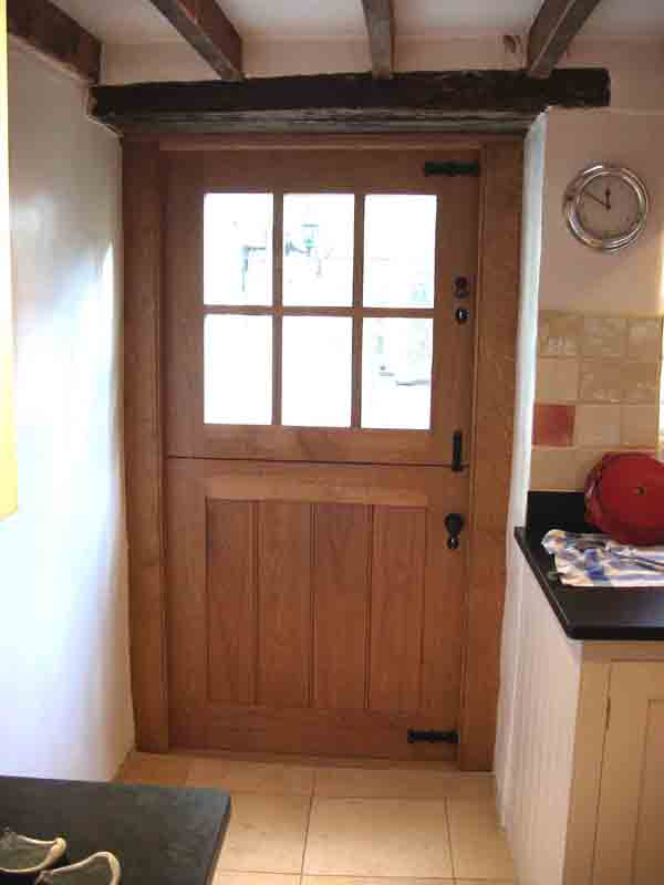Stable Door Window : Traditional carpentry joinery oak doors bespoke