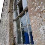 Left window at Rudge
