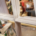 Glazing bars after stripping and sanding