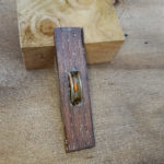Wooden sash pulley