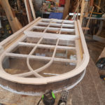 Arched sash nearly restored