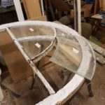 Removing the curved glass