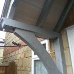 Braced Canopy detail