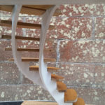 Helical stairs concept model 2