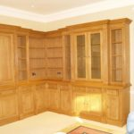 bookcase and tv cupboard two sided units