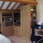 Wardrobe in spare bedroom come office