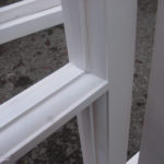 detail of casement window