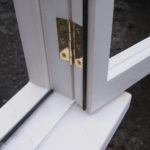 detail of casement window