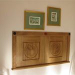 carving charles rennie mackintosh style design hatch doors