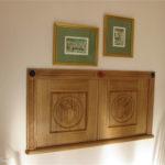 carving charles rennie mackintosh style design hatch doors