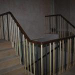 carving victorian handrail in mahogany