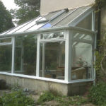 conservatory in wood in bath somerset 1