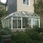 conservatory in wood in bath somerset