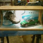 display case james bond aston martin