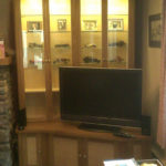 display unit in alcove