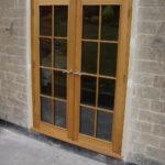 doors pair of oak doors