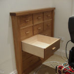 hidden drawer unit