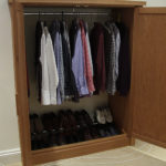 hidden wardrobe in royal crescent open