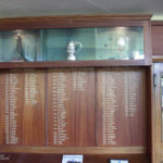 honours board and trophy cabinet