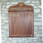 honours board sapele with feather banding