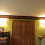 oak beam cover hiding rsj