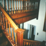 Re finish job on this old stairs