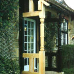 restore victorian porch post