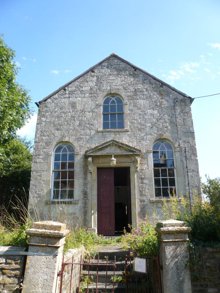 The Wesleyan Methodist Chapel in Rudge