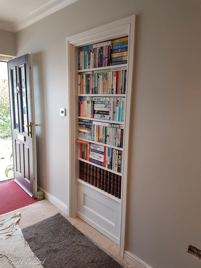 secret bookcase door uk