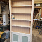 secret bookcase door free standing