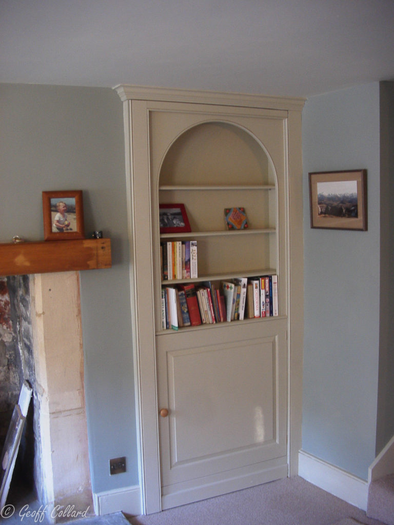 secret bookcase door in bathampton