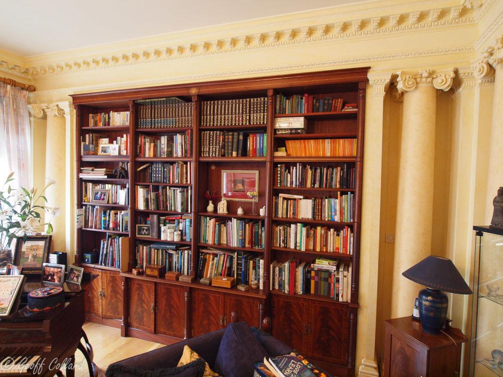 Hidden-bookcase-door-Great-Pulteney-Street