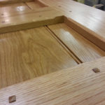 short oak door close up for web