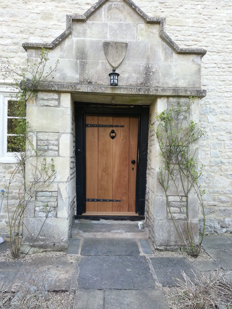 short oak door old farmhouse in bath for web