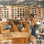 Replacing a boat deck in Monaco