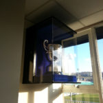 trophy cabinet for bath rugby's heineken cup 2