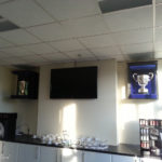 trophy cabinet for bath rugby's heineken cup 3