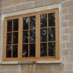window in oak
