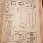 Building Construction by Prof Henry Adams M.I.C.E 1905. Detailed plan of Temple in Antis