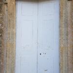 restored door for the chaple in rudge