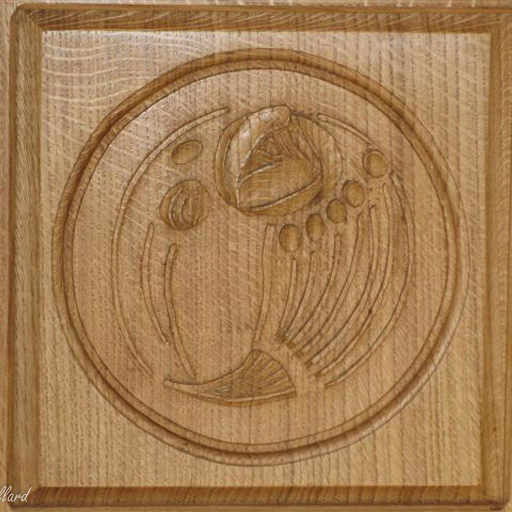 carving charles rennie mackintosh style design